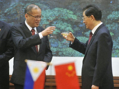 re an international laughing stock: China responds to Aquino's visit
