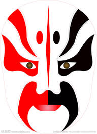 redwhite mask
